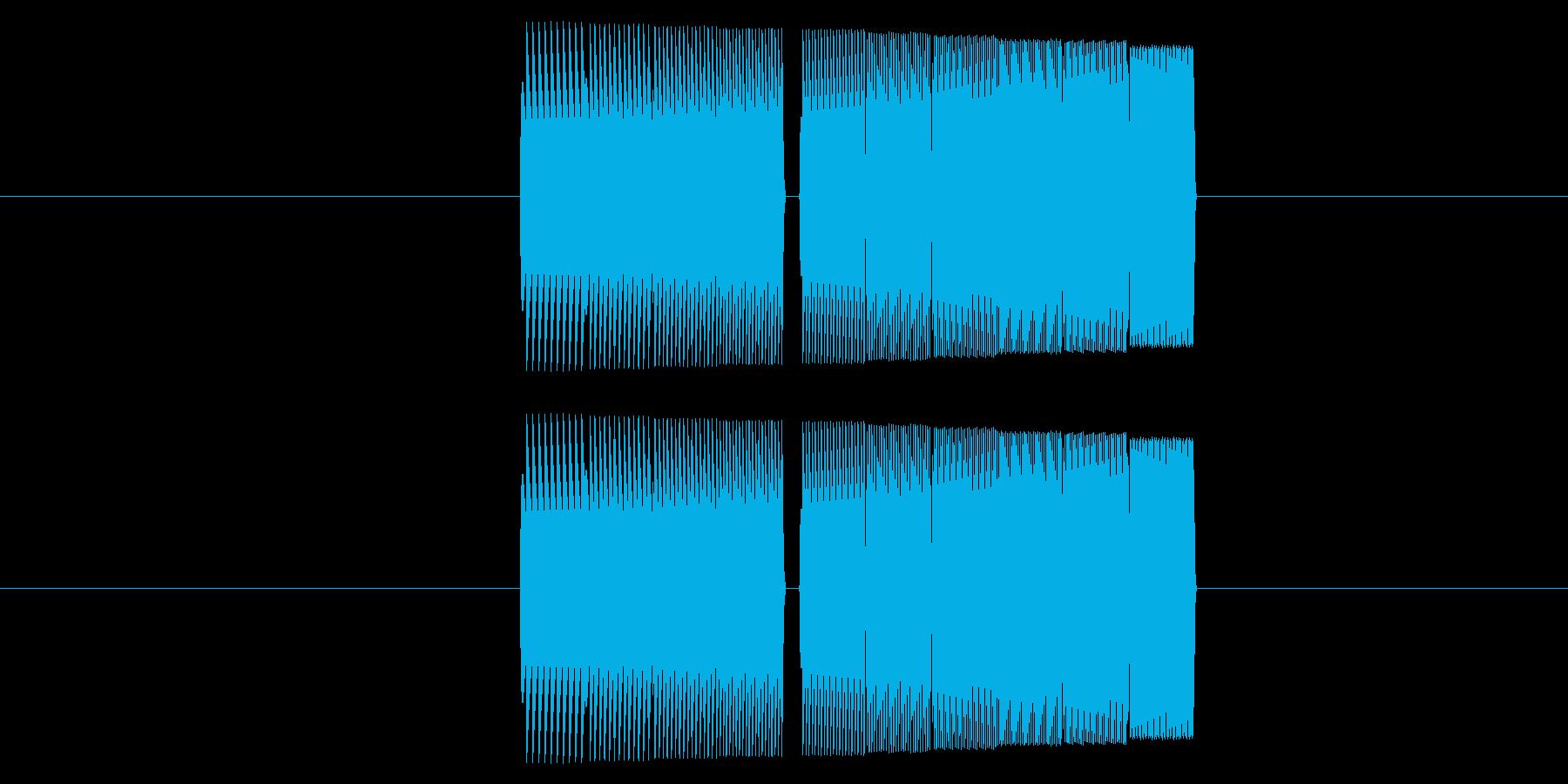 プーワッ ファミコン 上昇 Lvアップの再生済みの波形