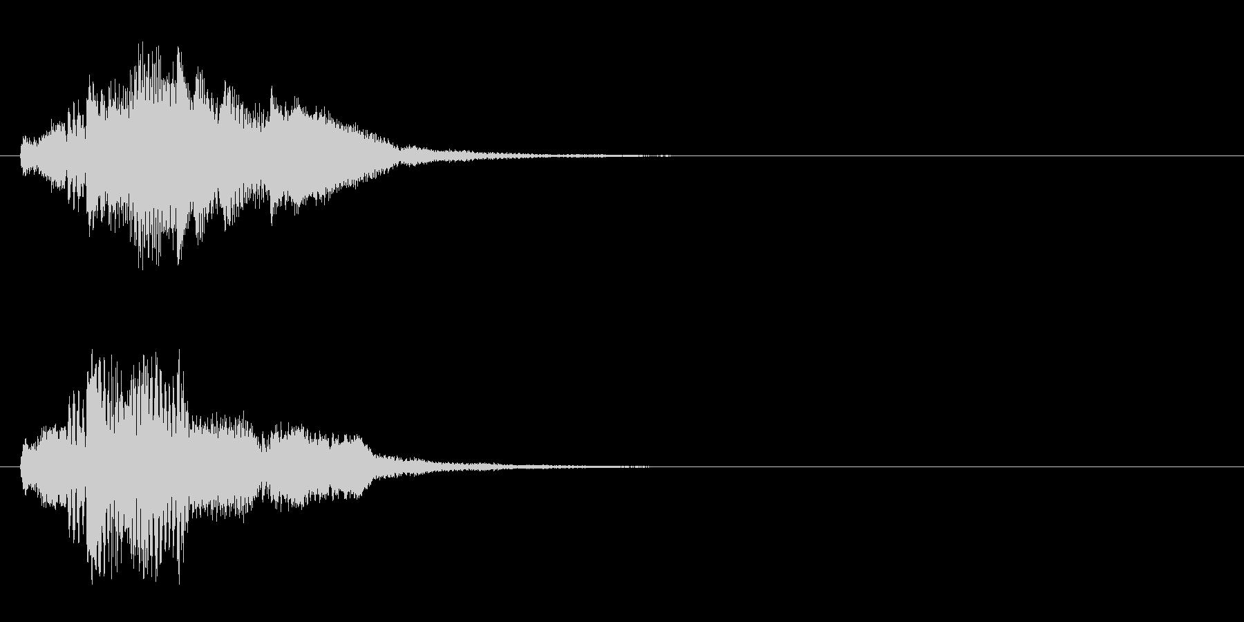 ハープ・上昇_5-1の未再生の波形