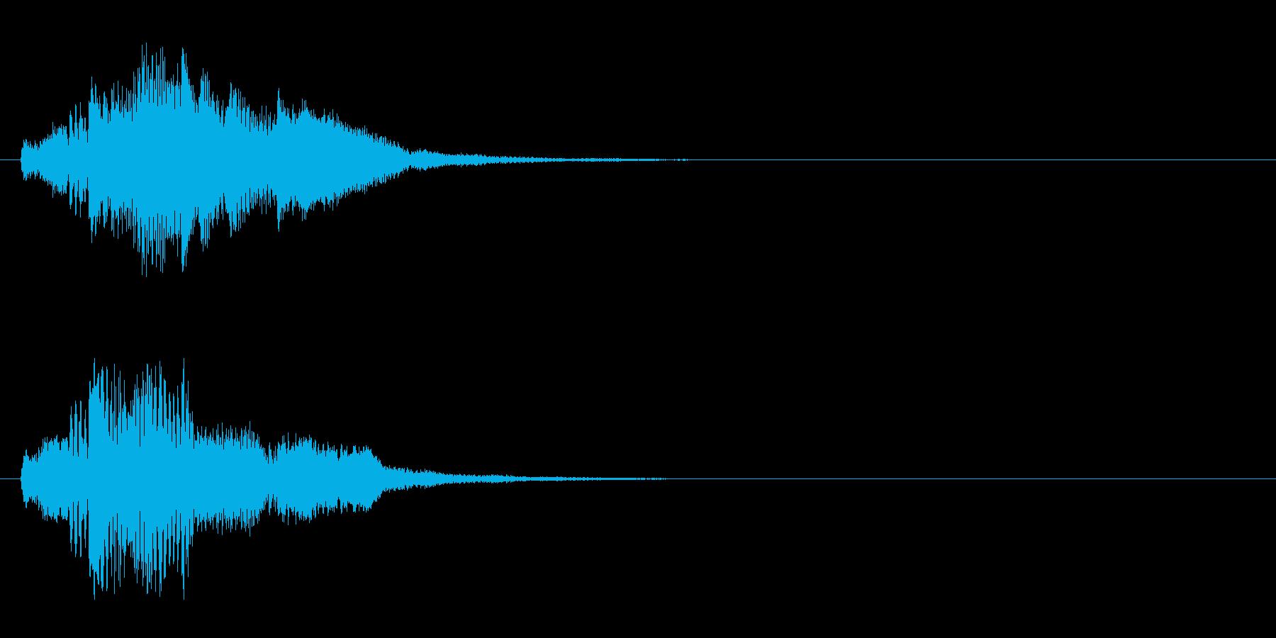 ハープ・上昇_5-1の再生済みの波形