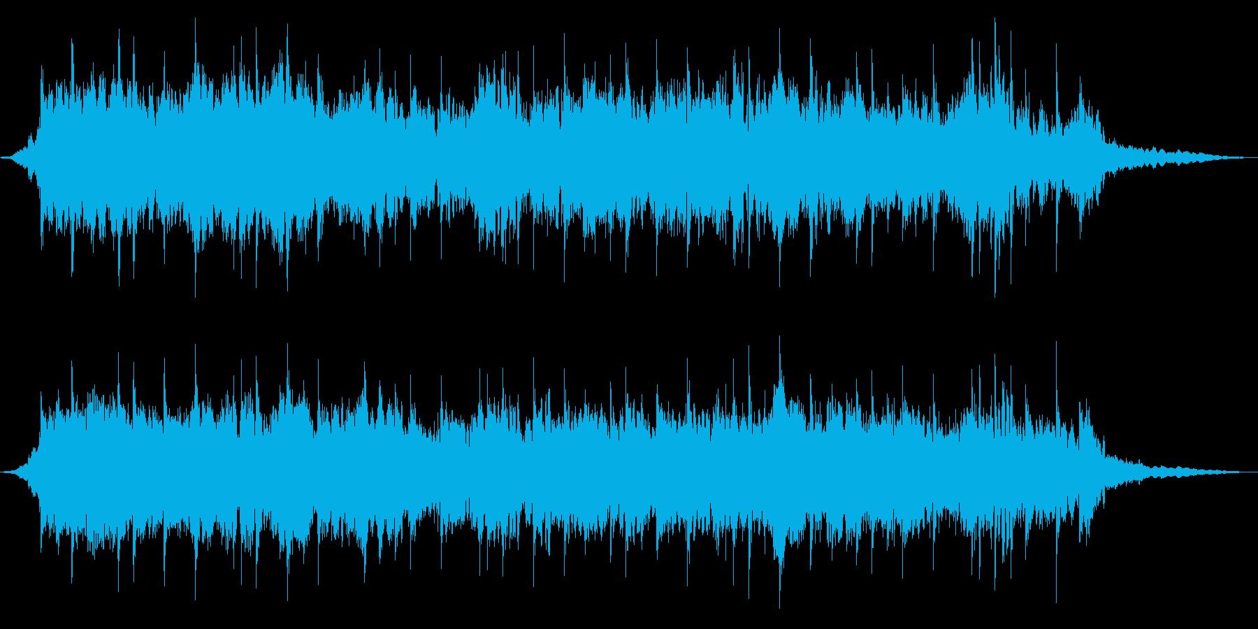 ドリームスケープオペレーターの再生済みの波形