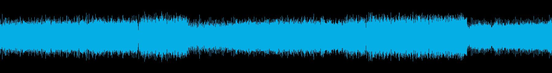 ループ 爽やかなバイオリンのロックの再生済みの波形