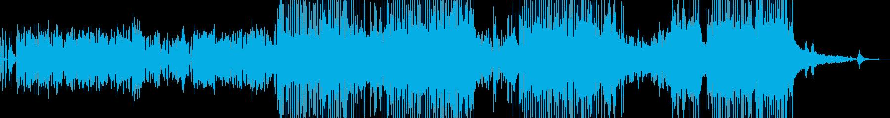 バイオリン・涼しい風景 後半ドラム・長尺の再生済みの波形