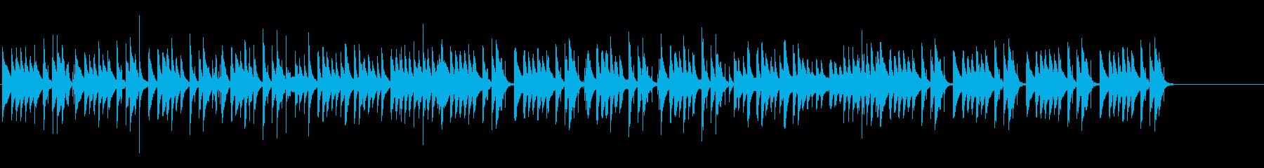 コミカルでわくわくするマリンバのBGMの再生済みの波形