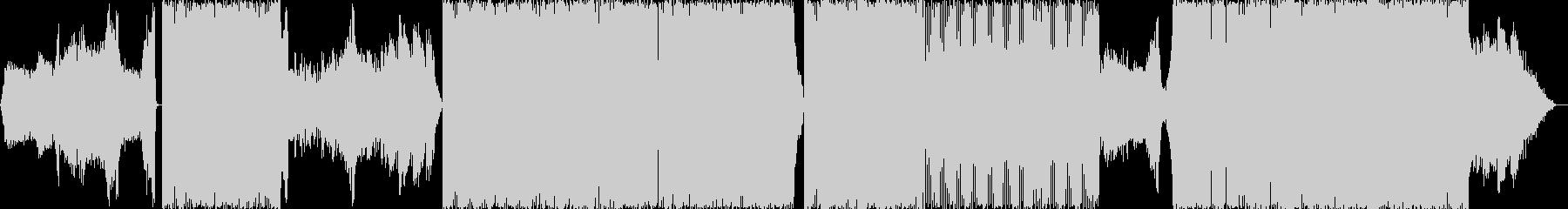ブドウをイメージした緊張感あるトランスの未再生の波形