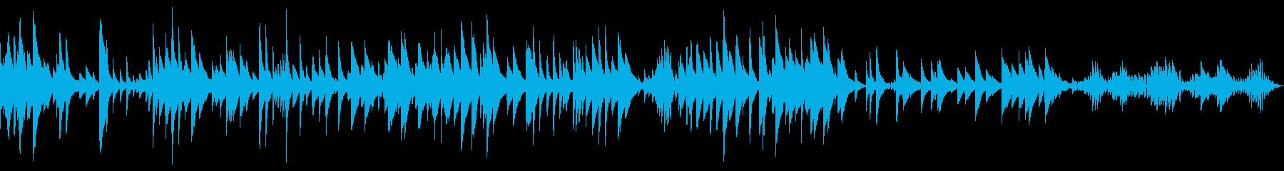 中国系の店舗BGM、ピパ独奏、ループの再生済みの波形