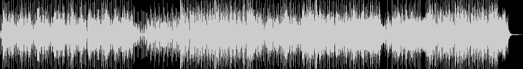 南国ムード ご機嫌なレゲェの未再生の波形