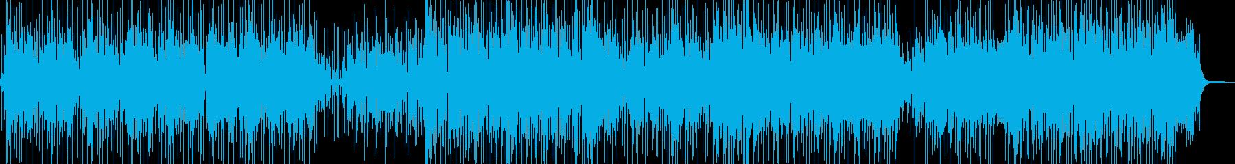 南国ムード ご機嫌なレゲェの再生済みの波形