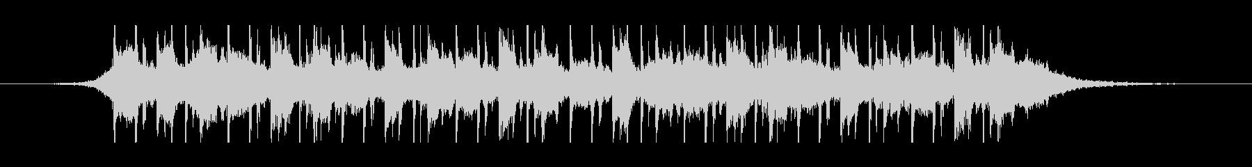 中東のラマダン(30秒)の未再生の波形
