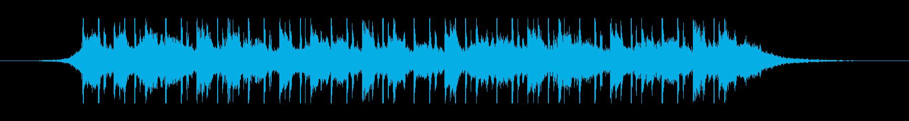 中東のラマダン(30秒)の再生済みの波形