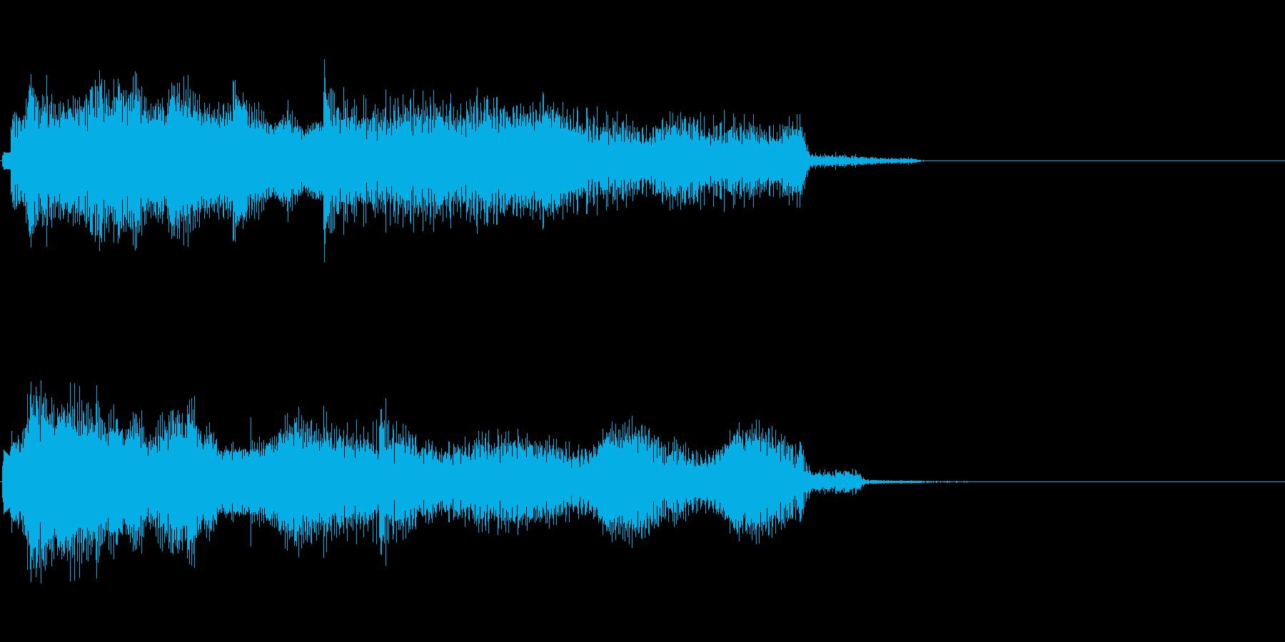 甘いJAZZバラードのジングルの再生済みの波形