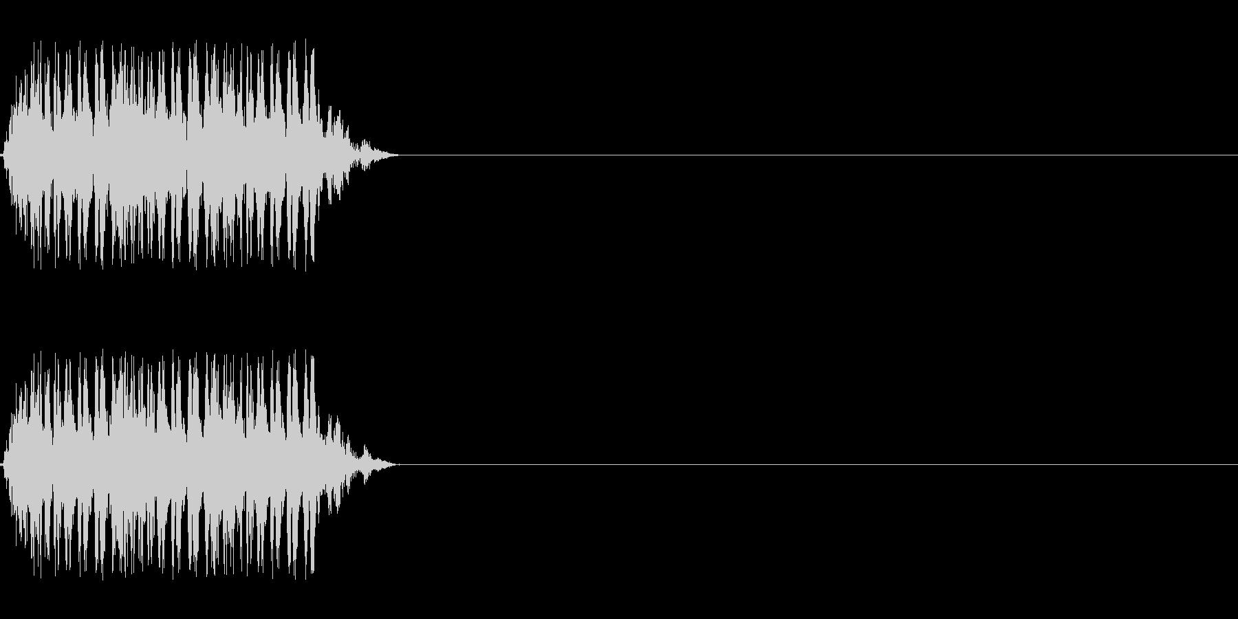 【レーザー01-3】の未再生の波形