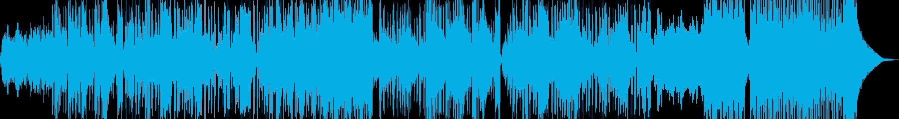 新鮮な空気感を演出・クールビート Bの再生済みの波形