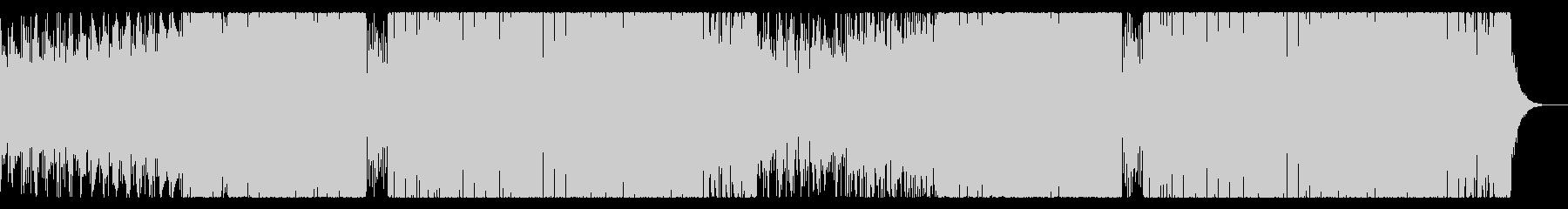 涼しげなEDMの未再生の波形