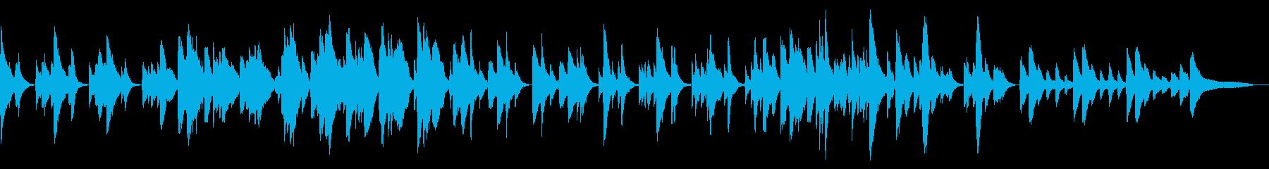 しゅん…寂しがり屋な猫♪甘く静かなピアノの再生済みの波形