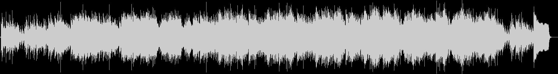 ミステリアスなマリンバのBGMの未再生の波形