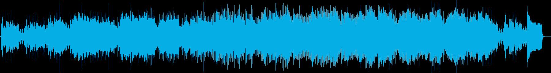 ミステリアスなマリンバのBGMの再生済みの波形