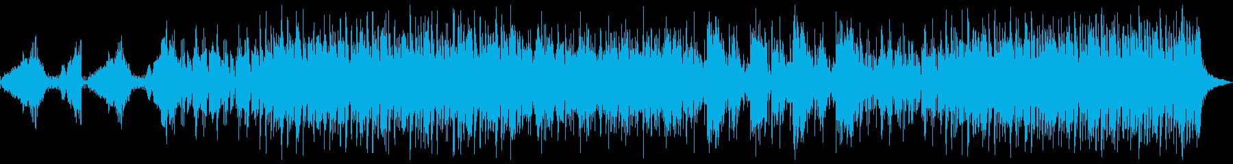 一対一の緊張感を感じさせるBGMの再生済みの波形