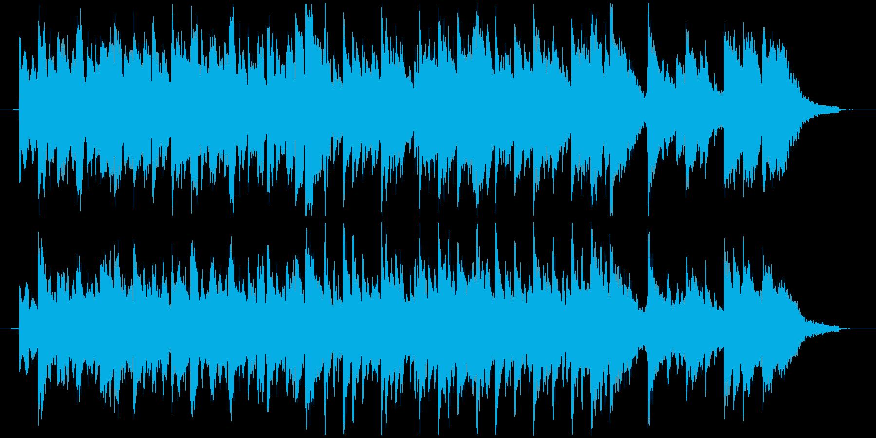 劇伴15B和風、尺八&琴、温もり、切ないの再生済みの波形
