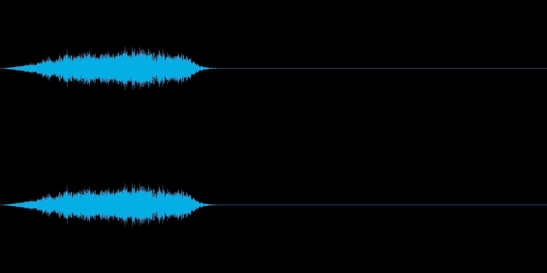 【ヒューン!】ビームやキャノン砲通過音の再生済みの波形