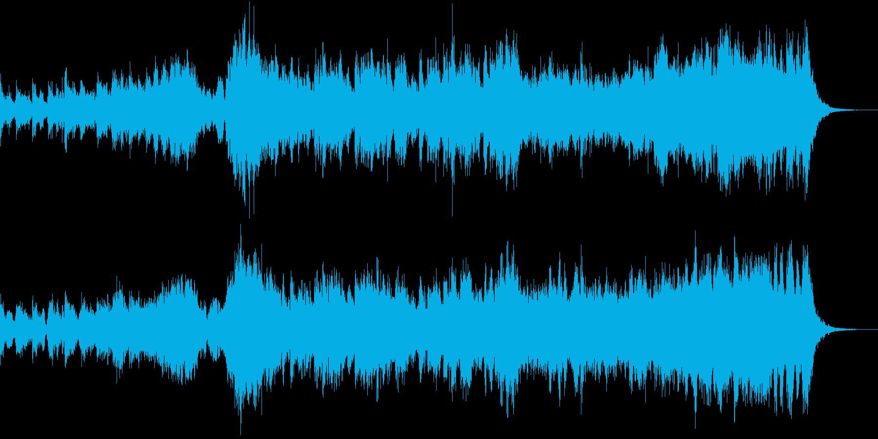 戦いの始まり・ファンタジーオーケストラの再生済みの波形
