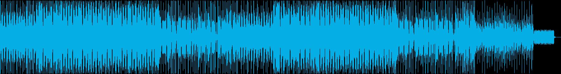 トイピアノとウクレレのほのぼのポップの再生済みの波形