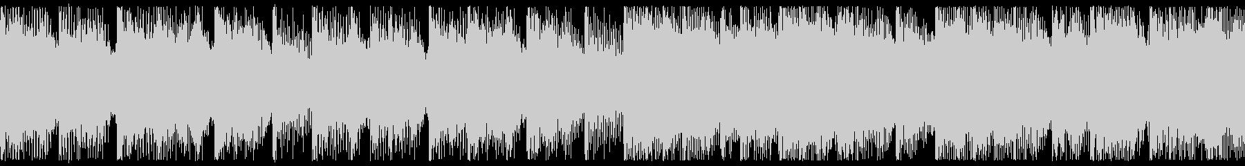 ほのぼのした雰囲気のポップロック-ループの未再生の波形
