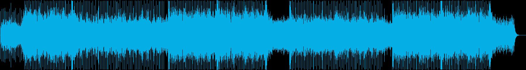 お祭り和風ロックの再生済みの波形