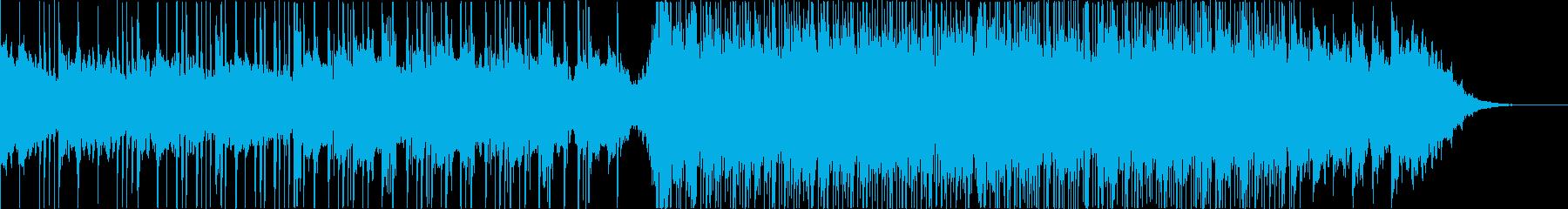 和風エレクトロ、三味線、しっとり、Sの再生済みの波形