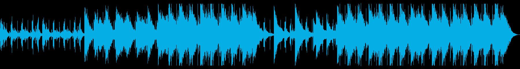 ふわふわとしたチルBGM_2の再生済みの波形