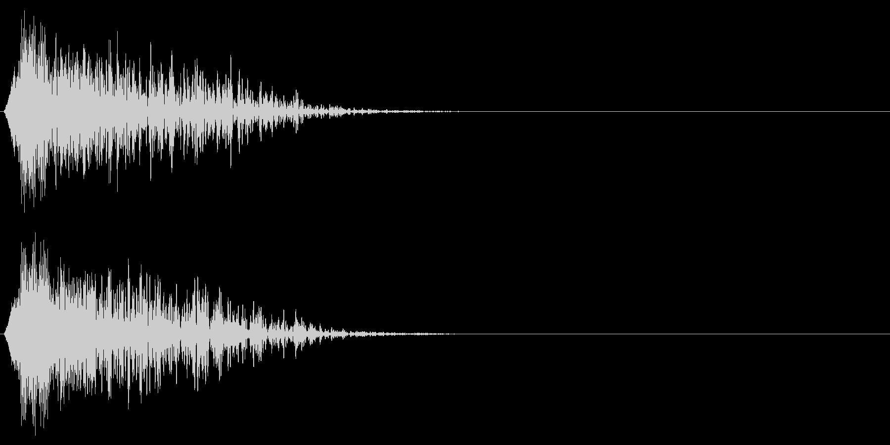 ドーンの未再生の波形