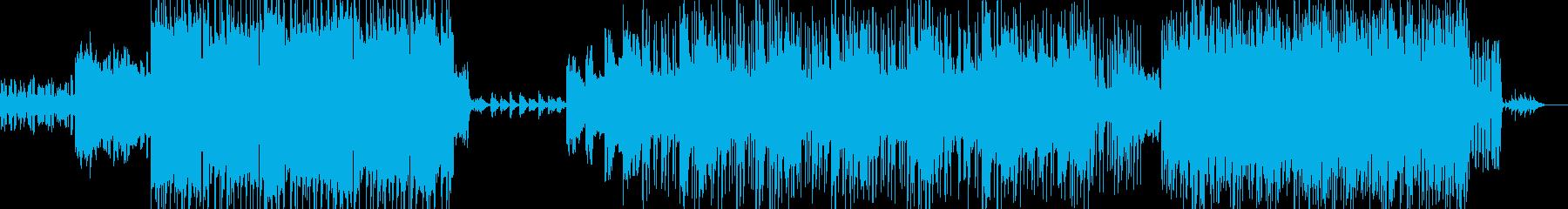 Xmasの夜に聴きたいバラードインストの再生済みの波形