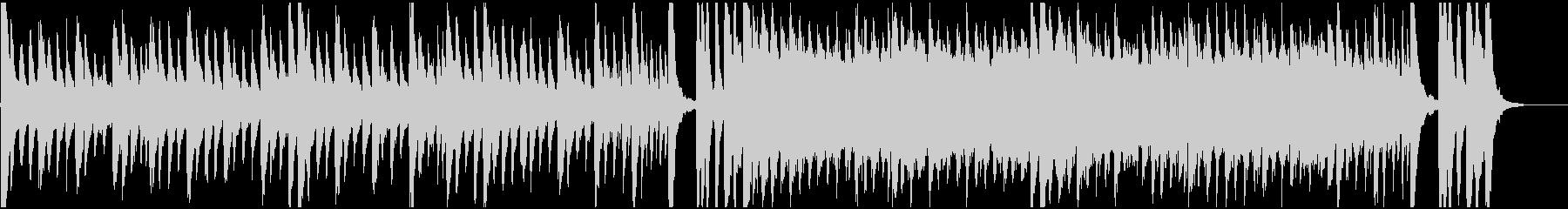 ハロウィン、ホラー、メランコリックBGMの未再生の波形