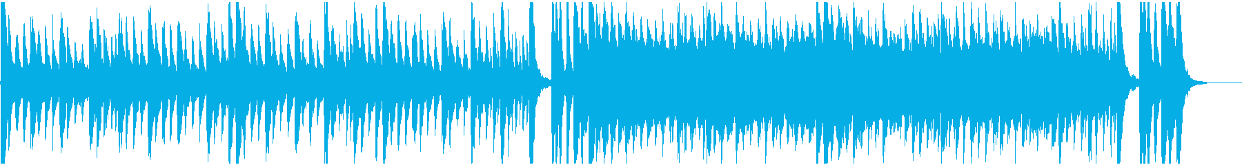 ハロウィン、ホラー、メランコリックBGMの再生済みの波形