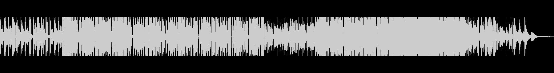 【短Ver1】80年代風洋楽ポップロックの未再生の波形