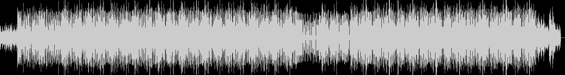 ピアノを使ったHIPHOPインストの未再生の波形