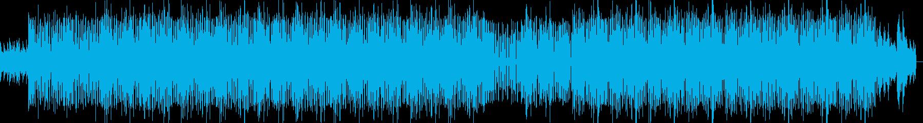 ピアノを使ったHIPHOPインストの再生済みの波形