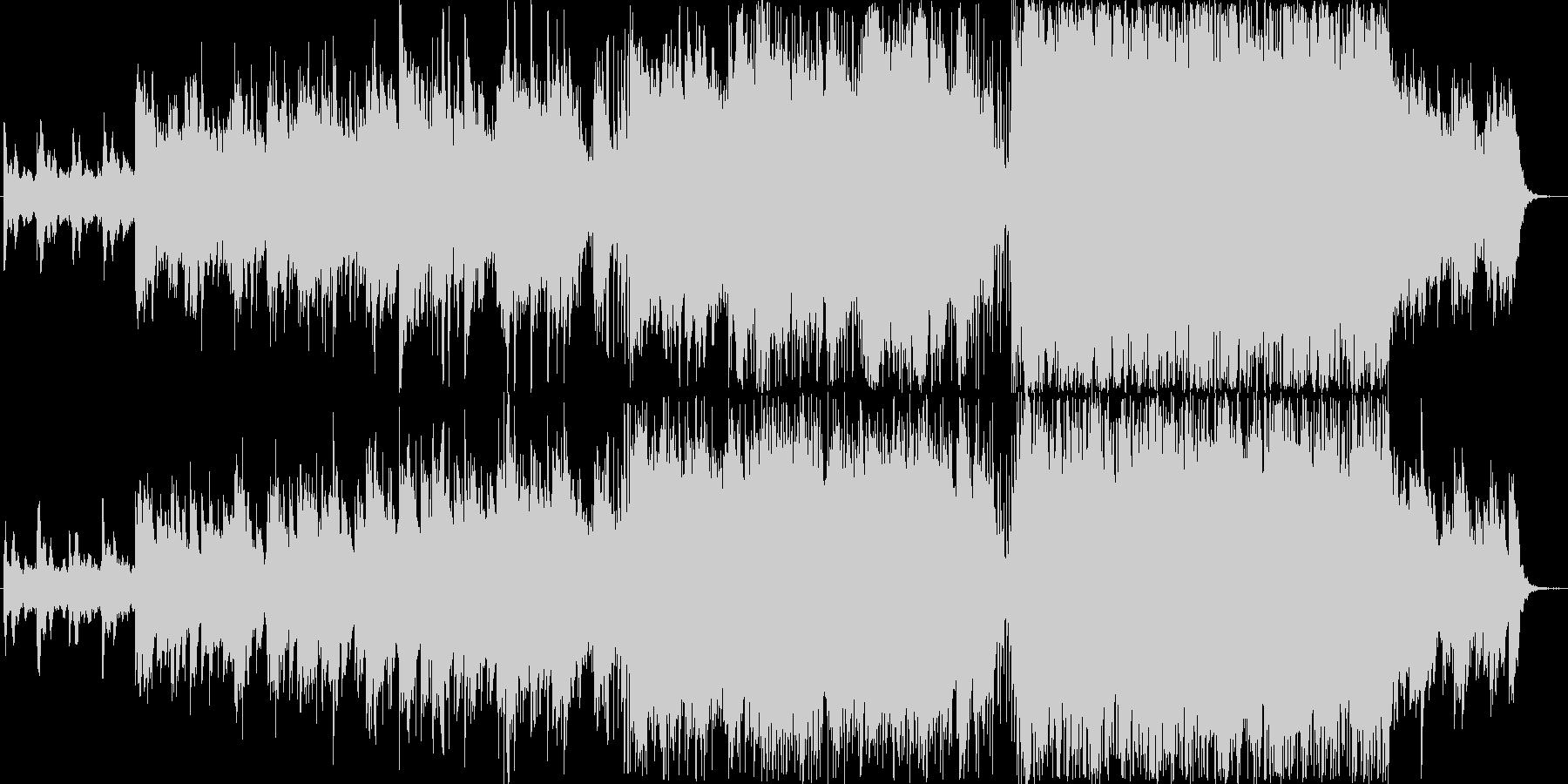 【PV用BGM】おしゃれな映像のための曲の未再生の波形