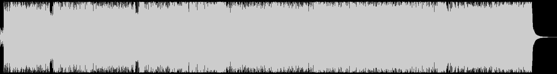 VP系3、レース番組、ギターロックAの未再生の波形