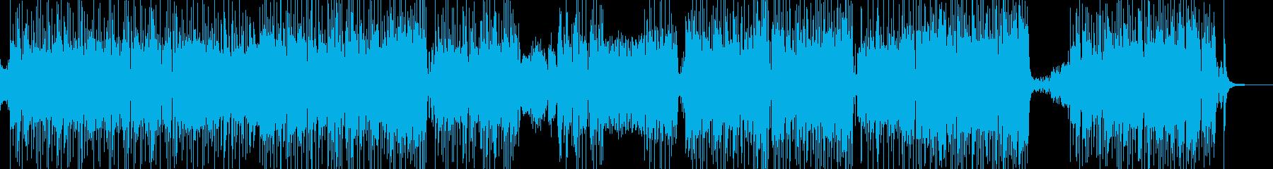 メルヘンな演出・ゆめかわポップス 長尺の再生済みの波形