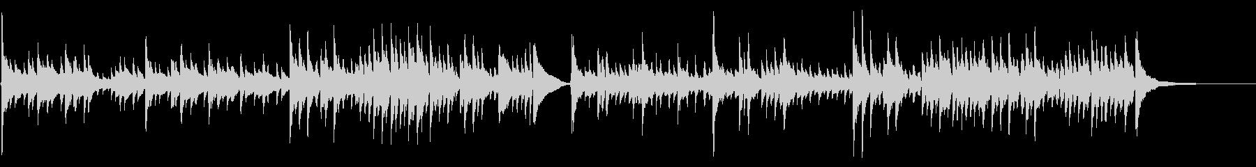 アコギ40/通り雨をイメージ、生音の未再生の波形