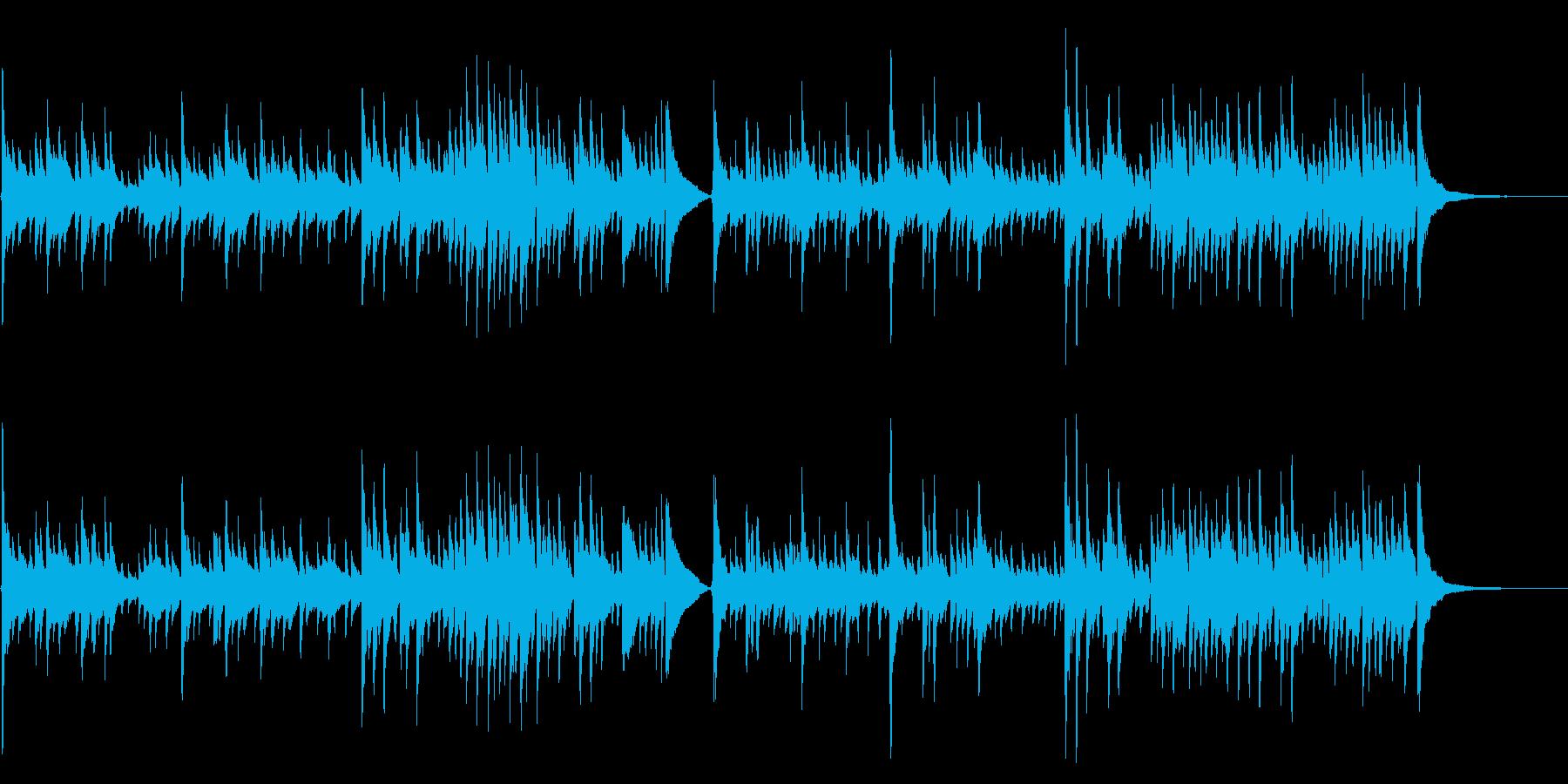 アコギ40/通り雨をイメージ、生音の再生済みの波形