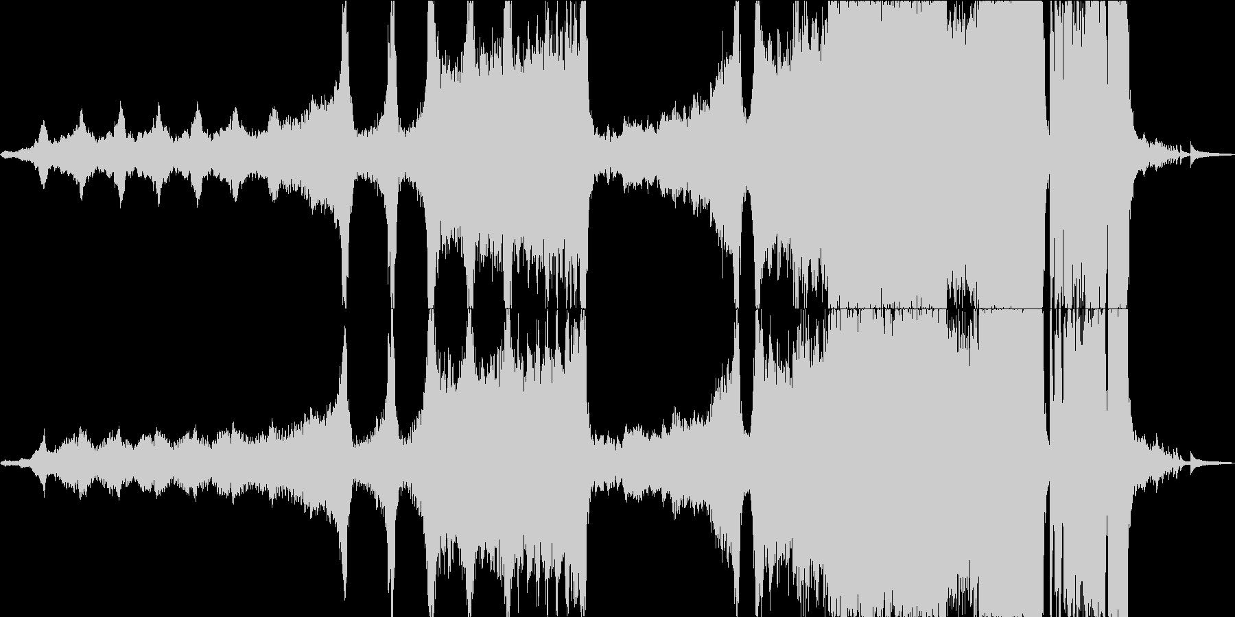 重いエピックオーケストラと天才の未再生の波形