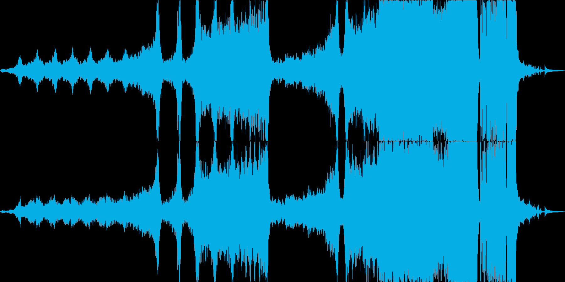 重いエピックオーケストラと天才の再生済みの波形