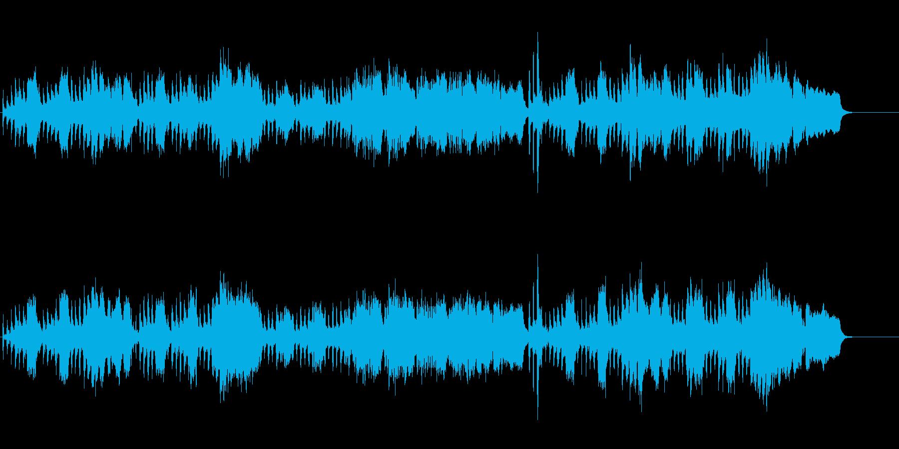 格調のあるバロック風(王朝貴族の夕べ)の再生済みの波形