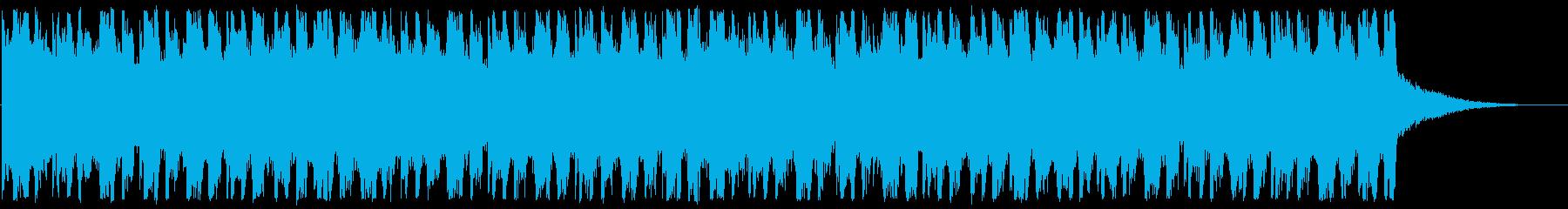 疾走感/情緒的/ハウスロック_474_4の再生済みの波形