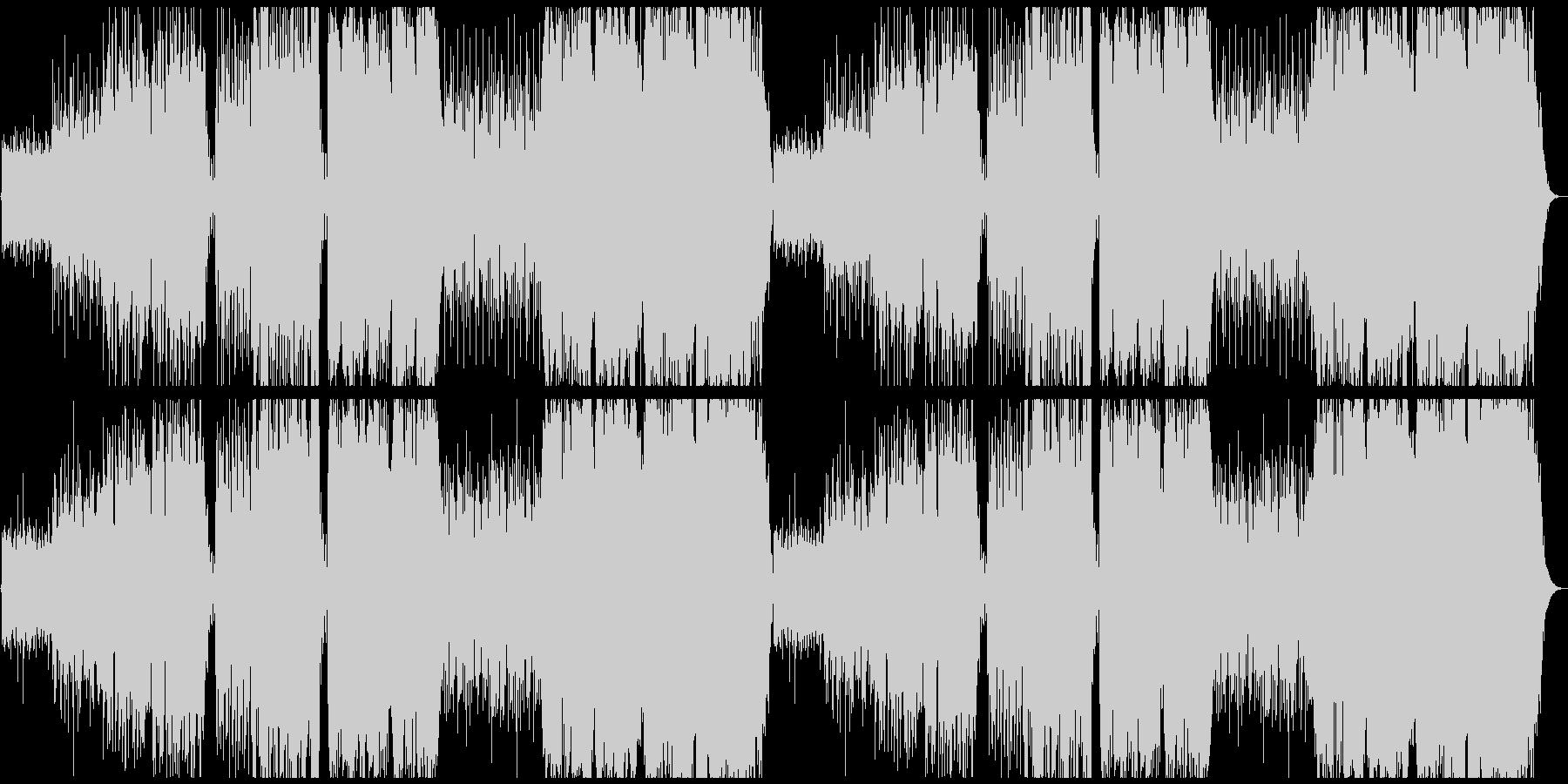 不思議な森の民族音楽の未再生の波形