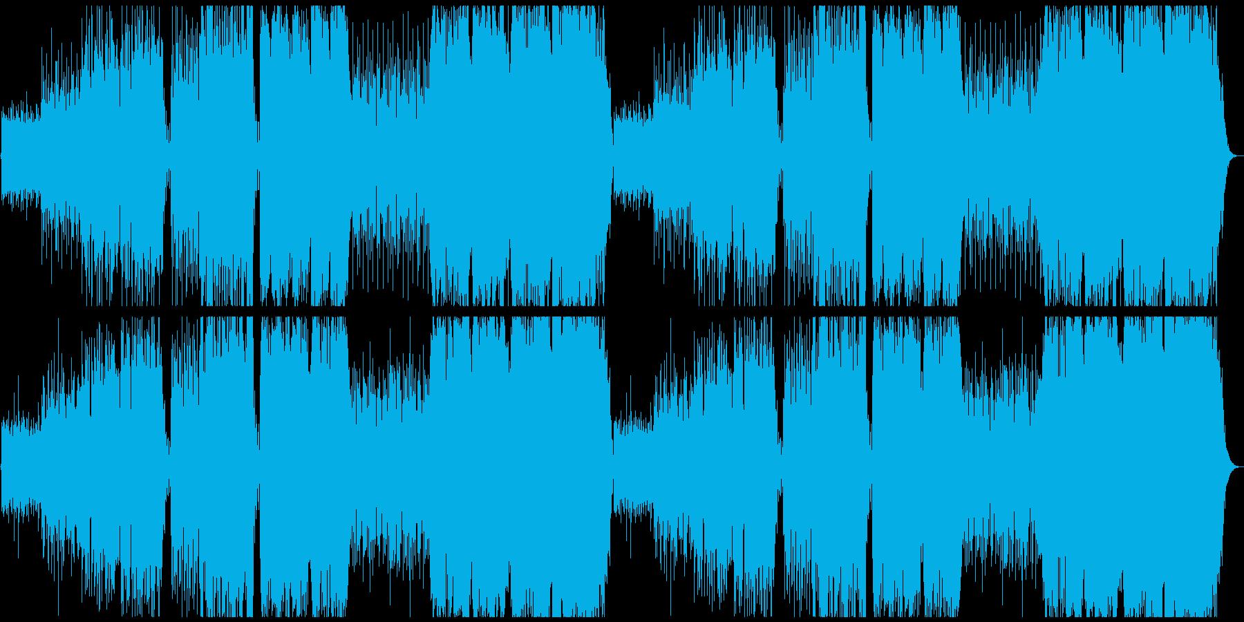 不思議な森の民族音楽の再生済みの波形