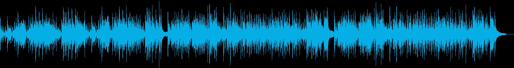 バッハの人気曲、G線上のアリアです。の再生済みの波形