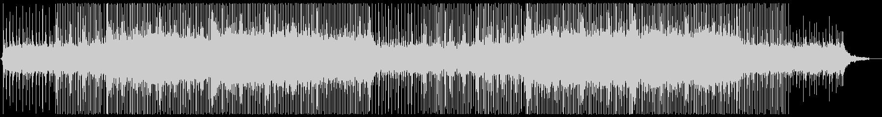 アコースティックなコンセプトムービー風の未再生の波形