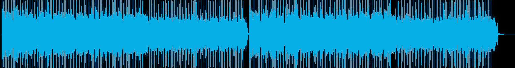 「HR/HM」「ROCK」BGM114の再生済みの波形